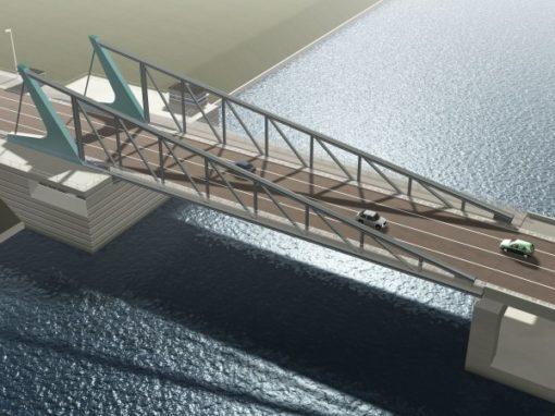 BOULEVARDBRIDGE<br><span style='color:#31495a;font-size:12px;'>Bridge, Brussels-Scheldt sea canal</span>