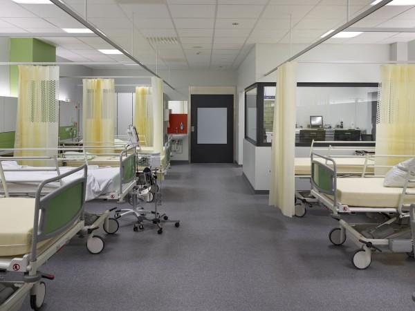 Recovery nieuw chirurgisch dagziekenhuis Sint-Augustinus, Wilrijk