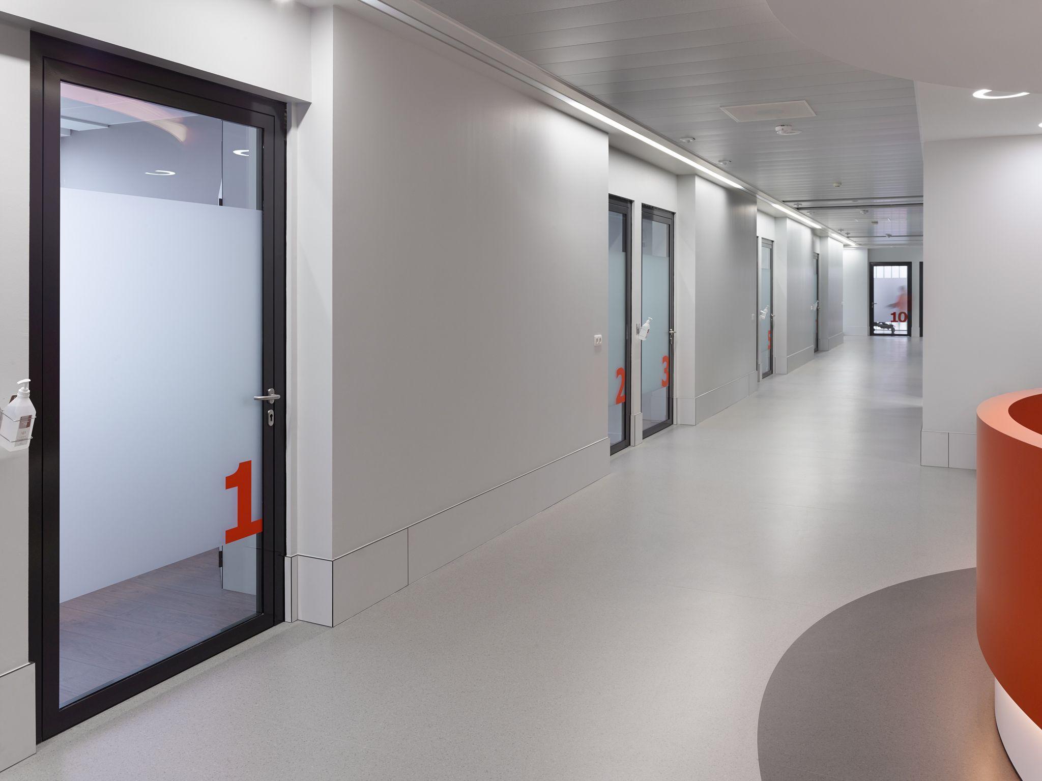 Burelen artsen nieuw chirurgisch dagziekenhuis Sint-Augustinus, Wilrijk