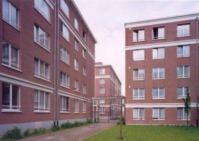 WOONHAVEN ANTWERPEN CVBAAppartementen sociale huisvesting Julius de Geyterstraat