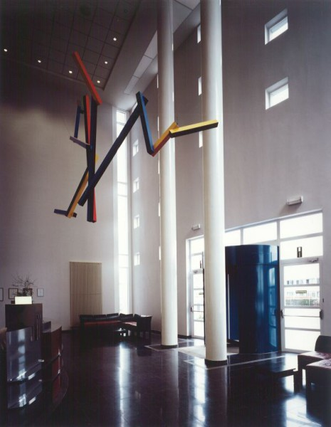Kantoorgebouw Akzo Nobel met productieafdeling, Vilvoorde
