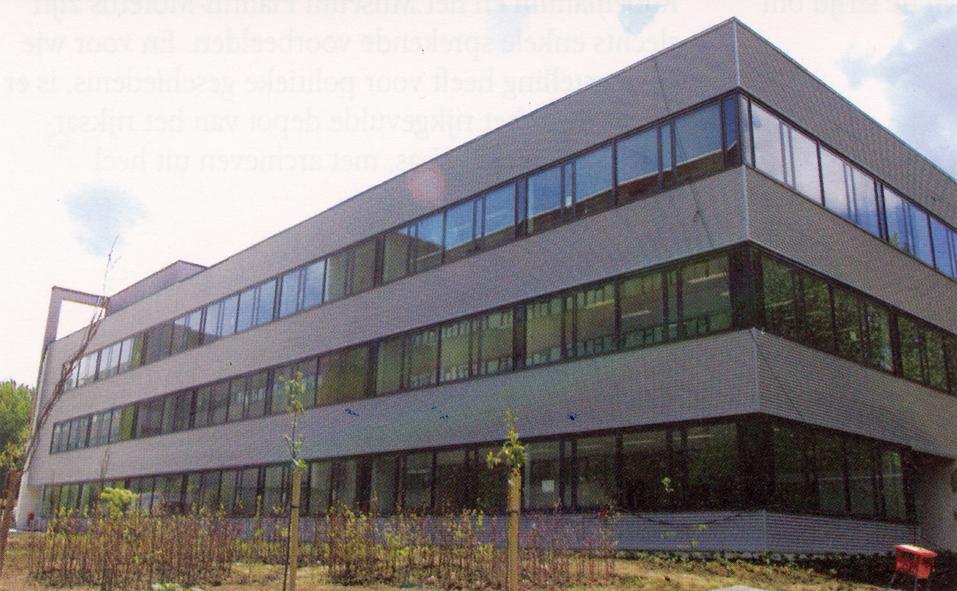 UZA Nieuwe kantoren